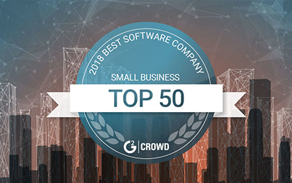 G2C Crowd Top 50 companies 2018